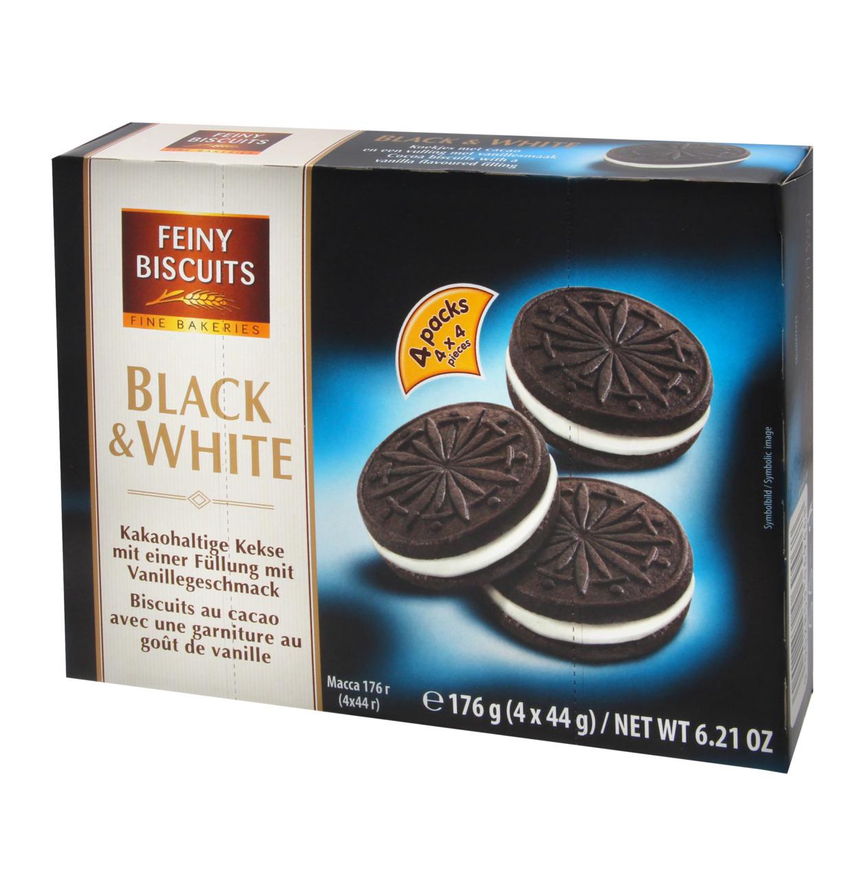 Kekse Black & White 176g
