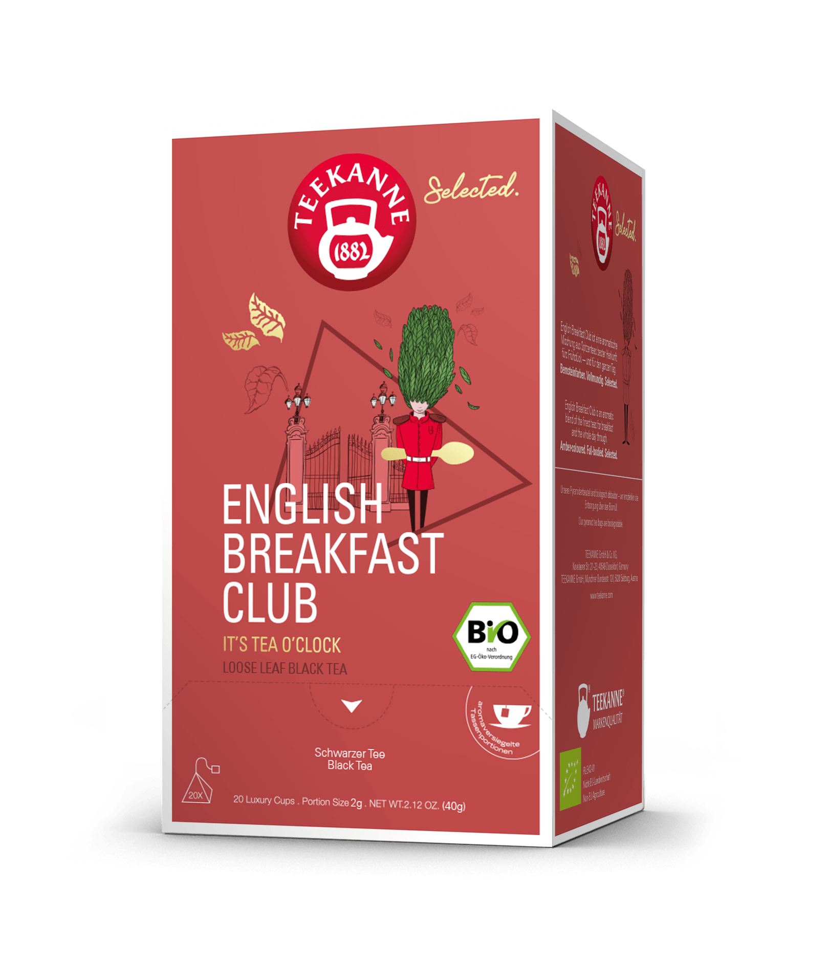 English Breakfast Club 40g.