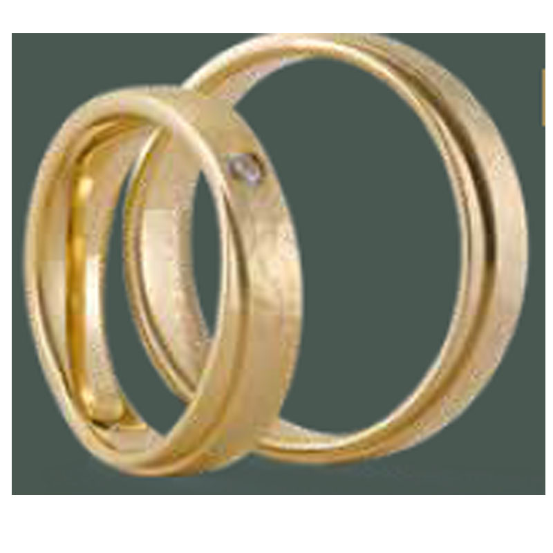 Fairtrade Gold 585 mit Brillant, zus. ca 0,05ct