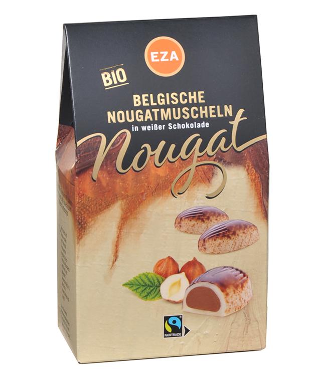 Belgische Nougatmuscheln