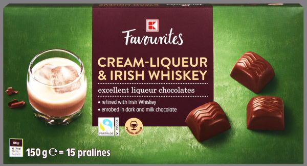 K-Favourites Irish Whiskey & Cream Pralinen 150g