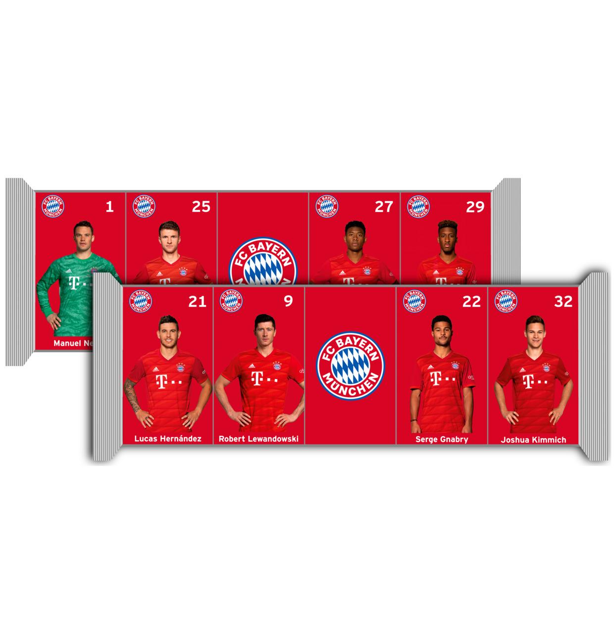 FC Bayern München Milchschokolade 5x15g