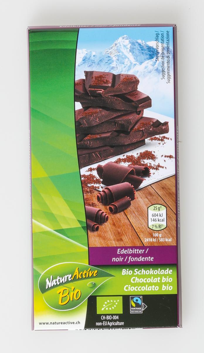 Edelbitterschokolade 72