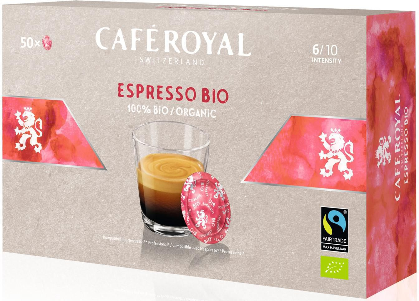 Café Royal Office Pads Espresso (50 x 6g)