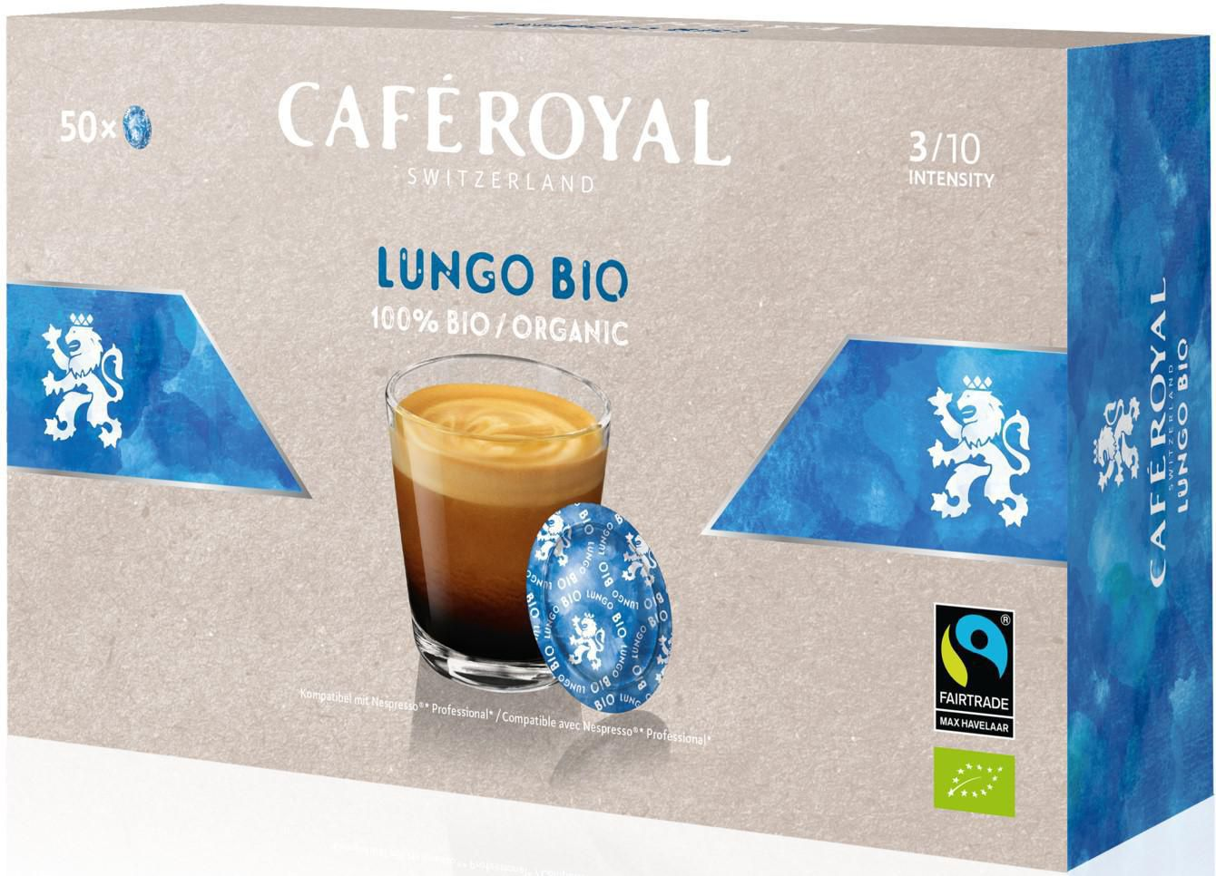 Café Royal Office Pads Lungo (50 x 6g)