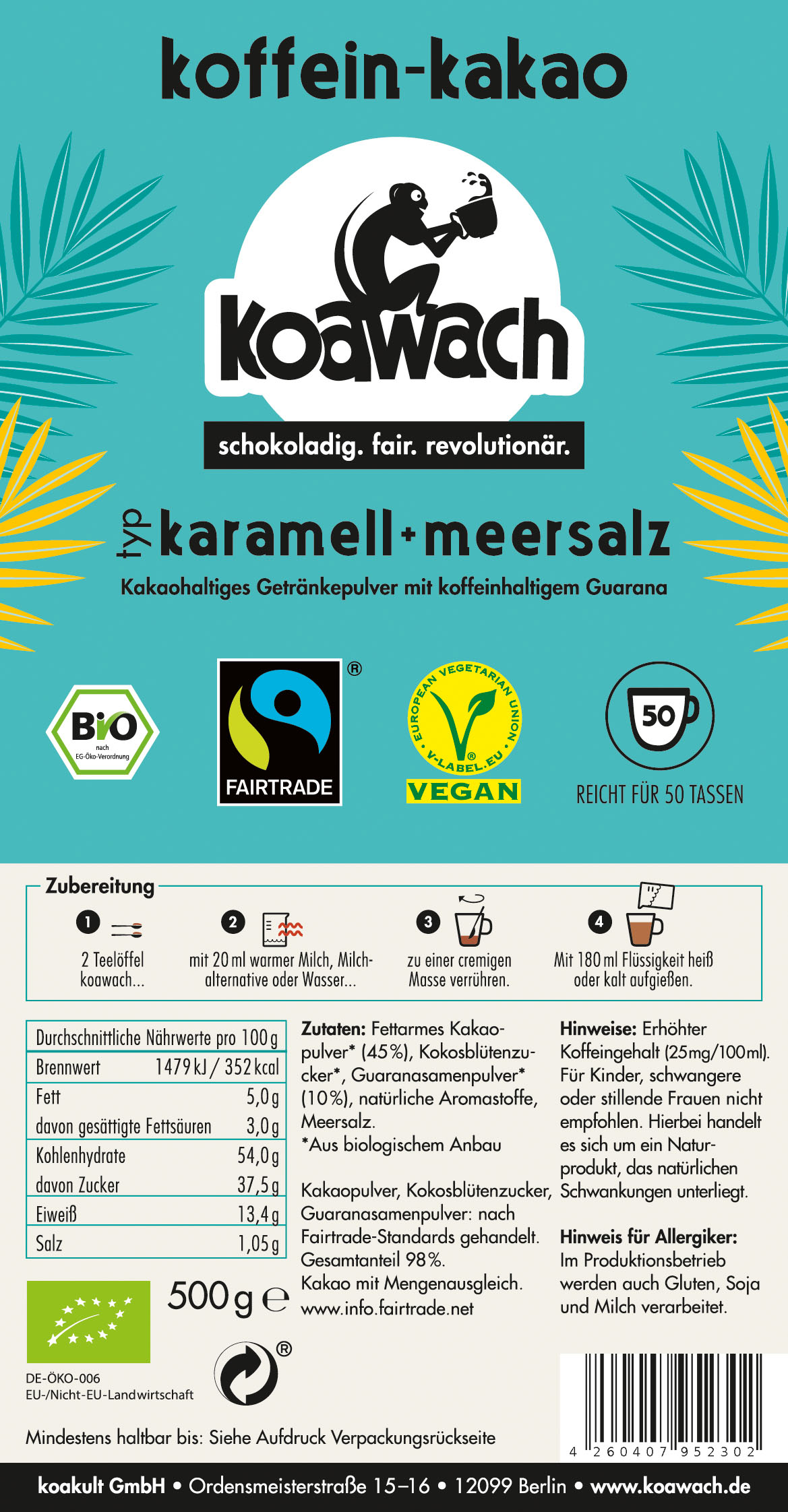 Typ Karamell + Meersalz