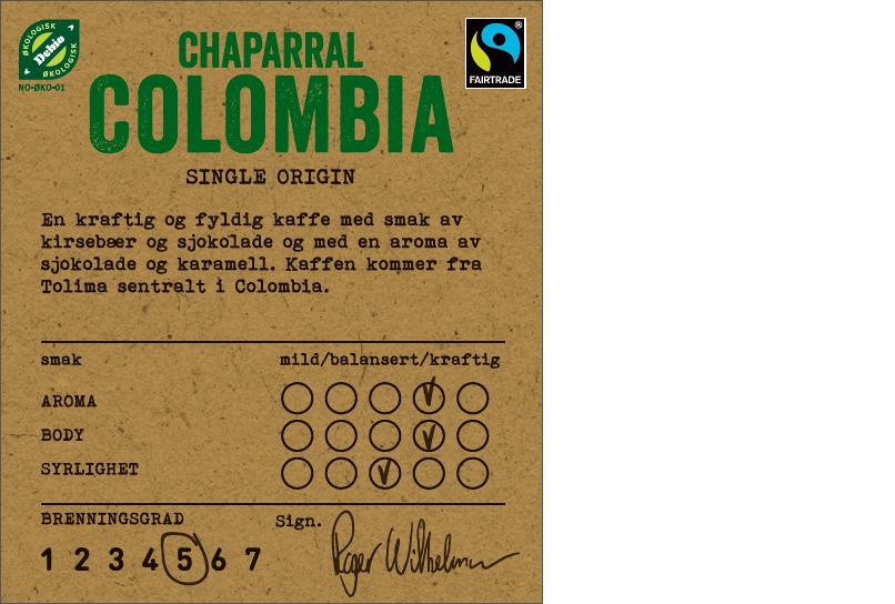 COTW Chaparral Colombia 340gr