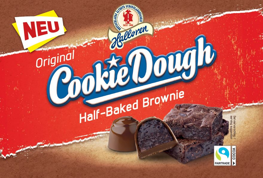 Cookie Dough Half Baked Brownie 150g