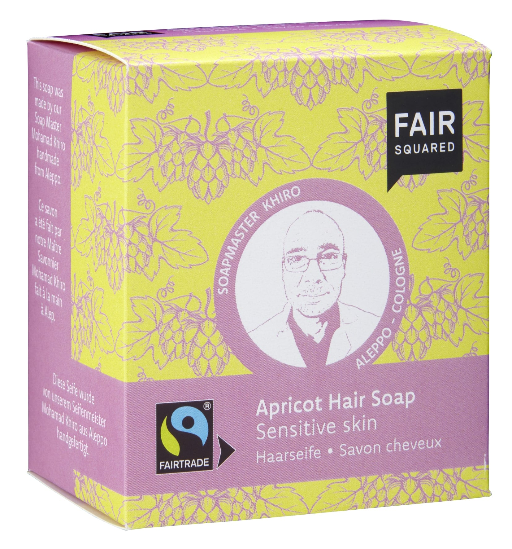Apricot Hair Soap Sensitive Skin