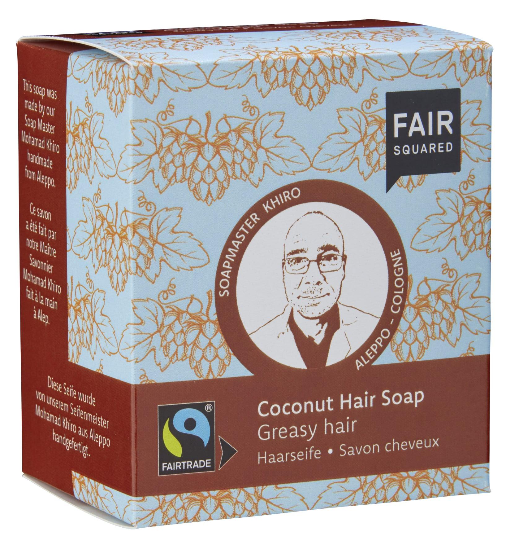 Coconut Hair Soap Greasy