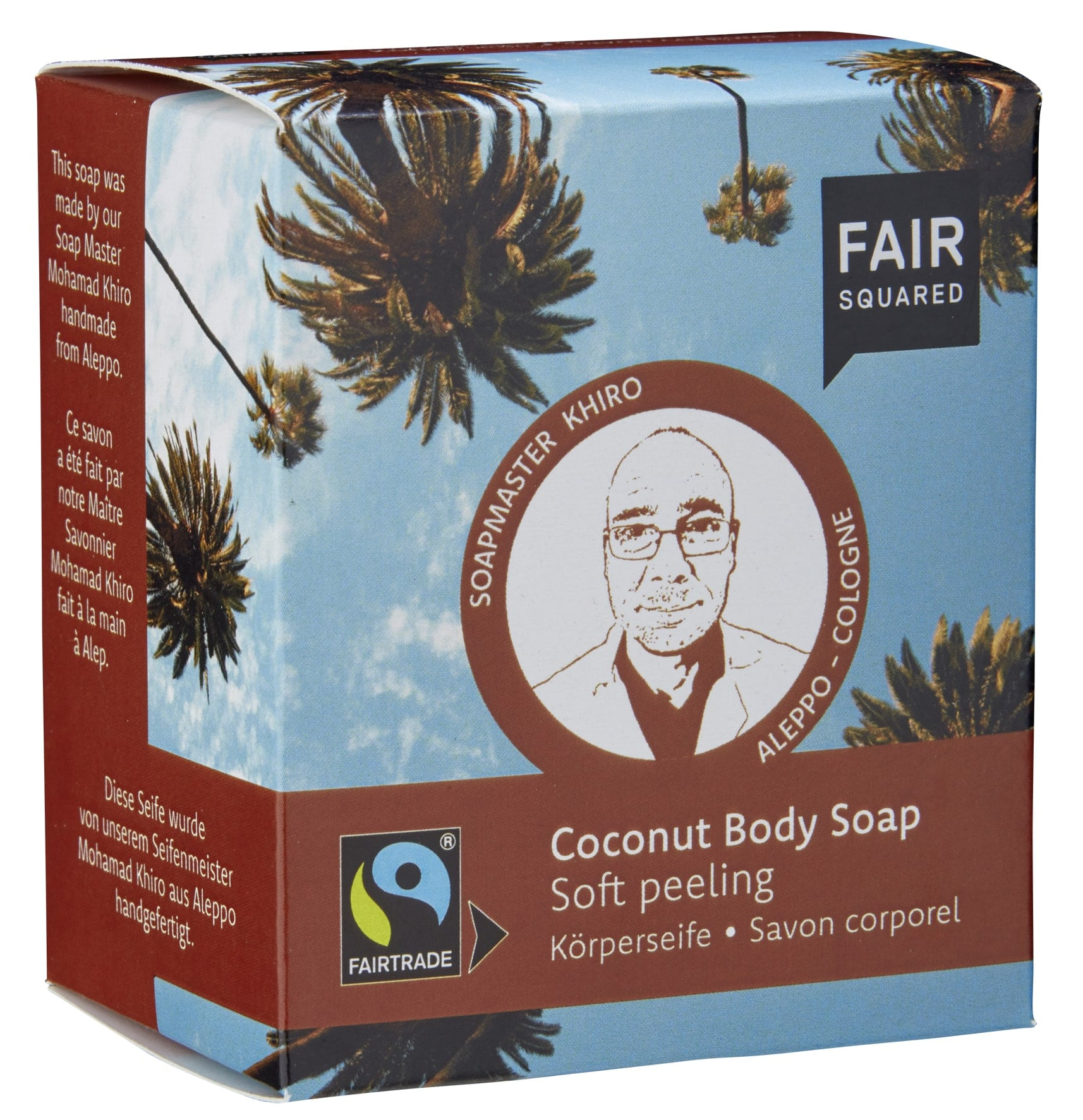 Coconut Body Soap Peeling