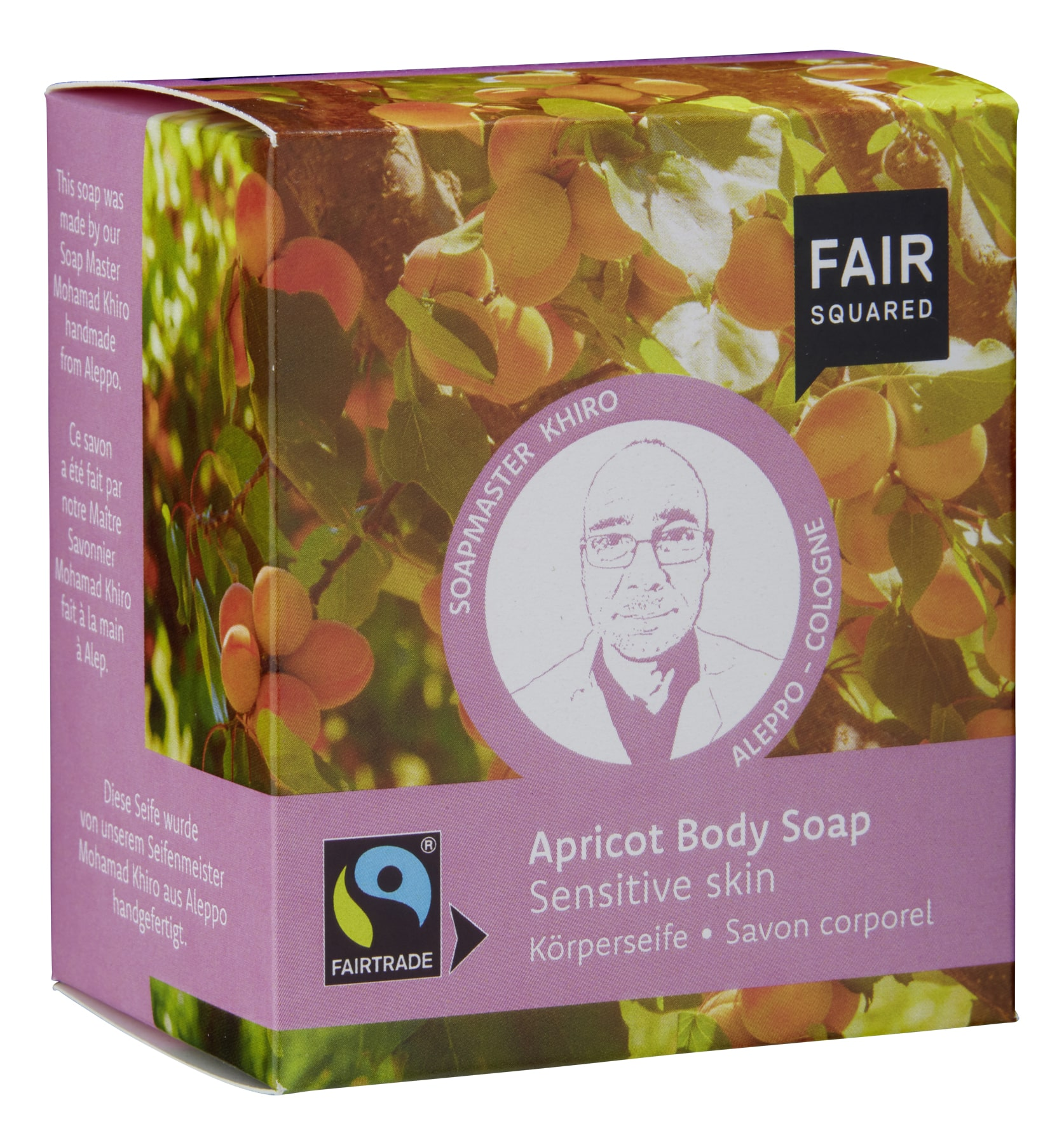 Apricot Body Soap Sensitive Skin