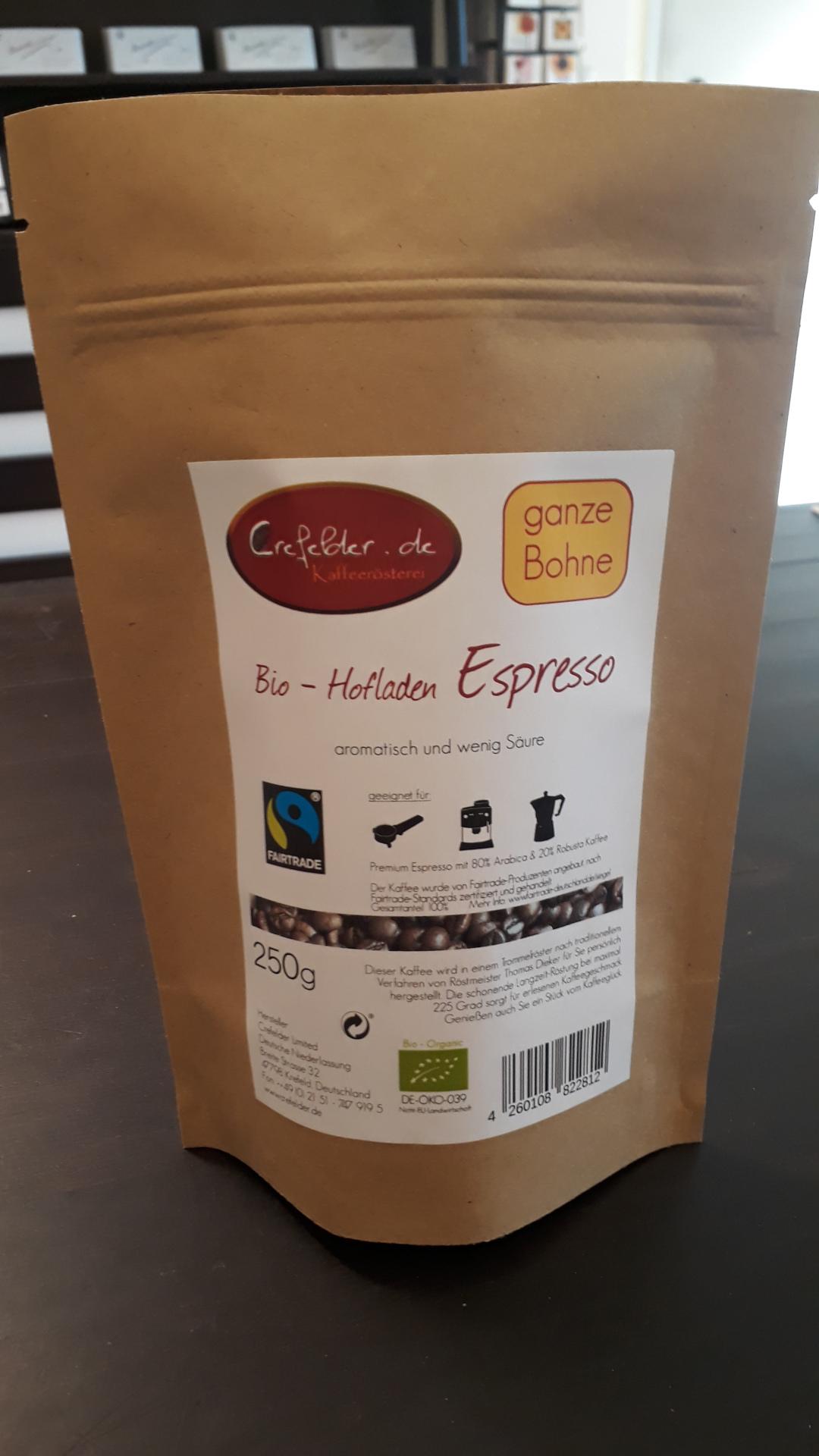 Bio Hofladen Espresso