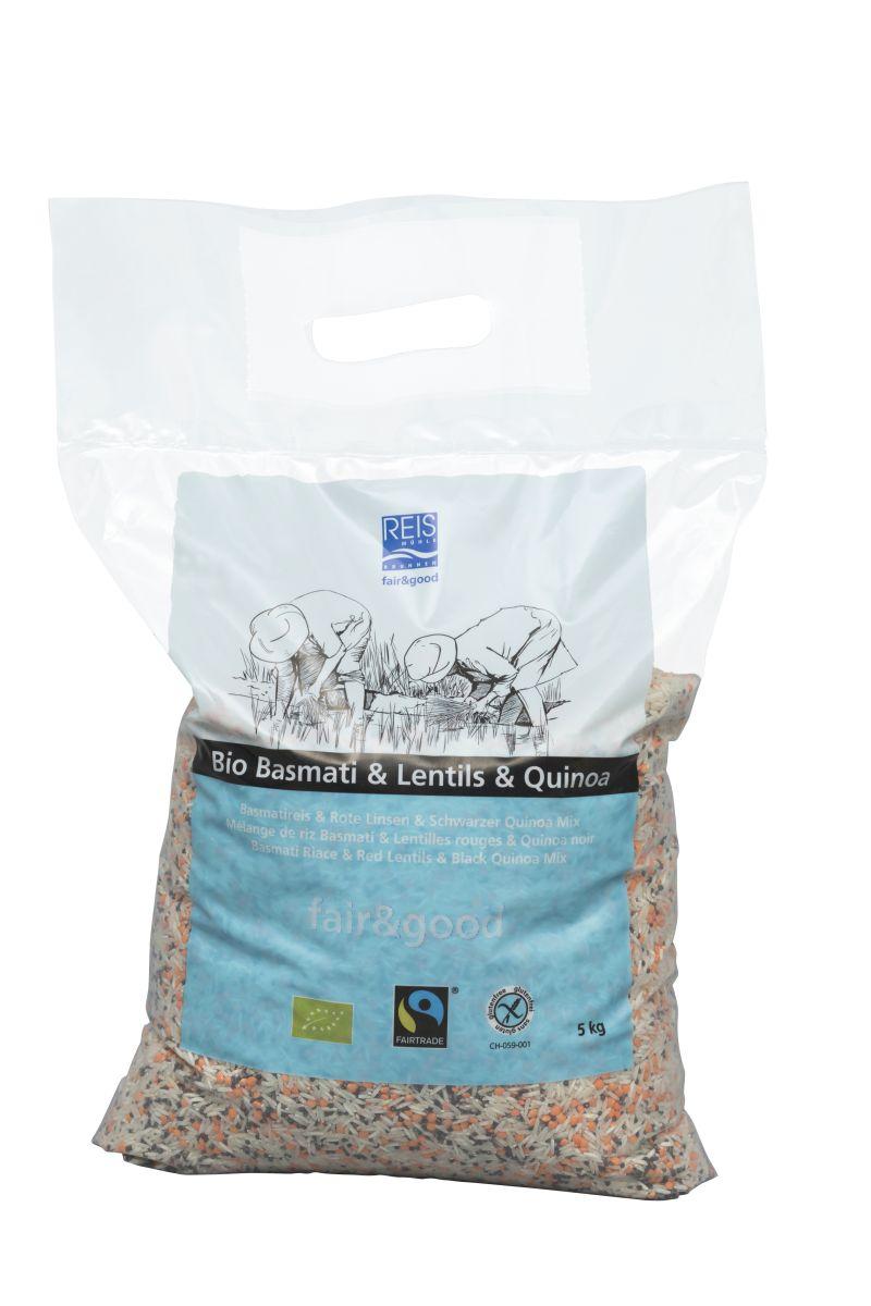 Basmati + Linsen + Quinoa 5kg