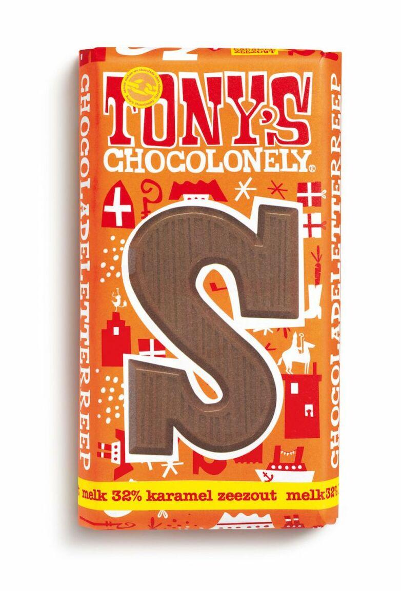Melkchocolade letterreep kar z S, 180gr FT, 15 st
