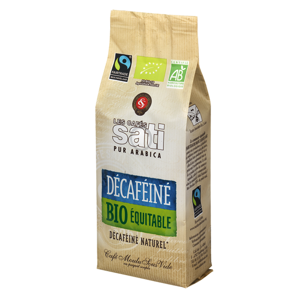 CAFE SATI DECAFEINE BIO FAIRTRADE MOULU 250G