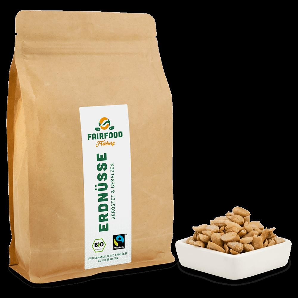 Erdnüsse Geröstet & Gesalzen (500g)