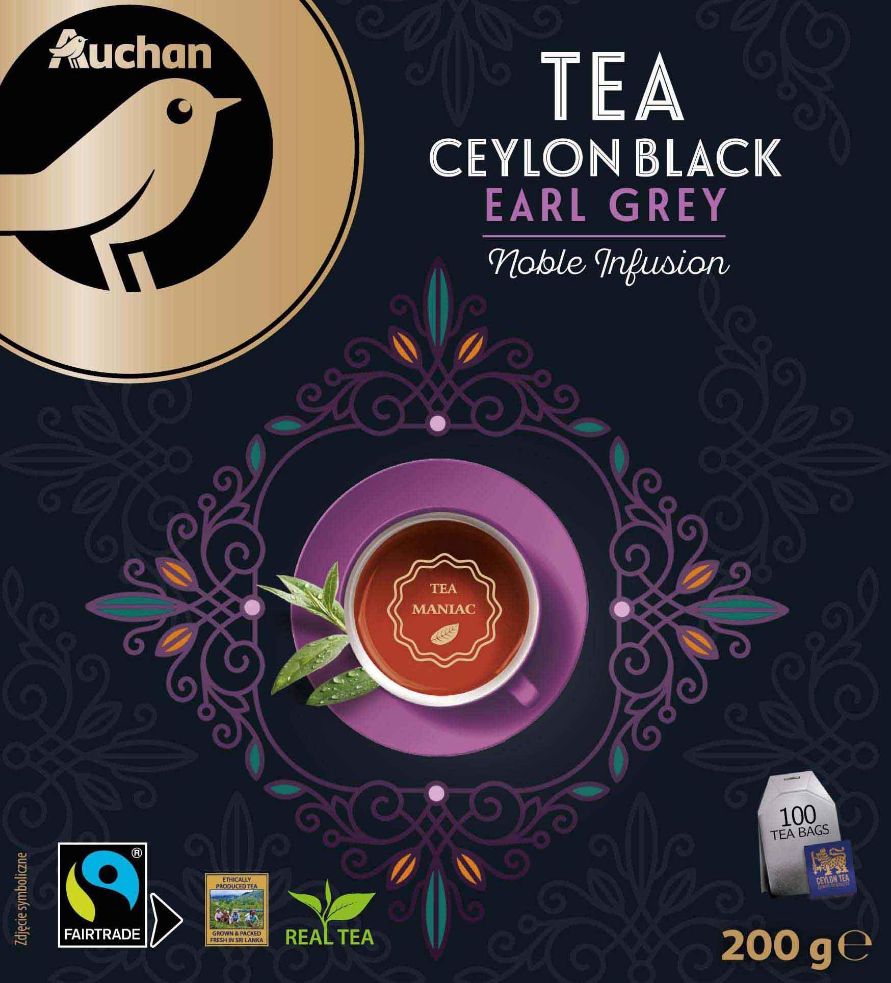 Tea Ceylon Black Earl Grey