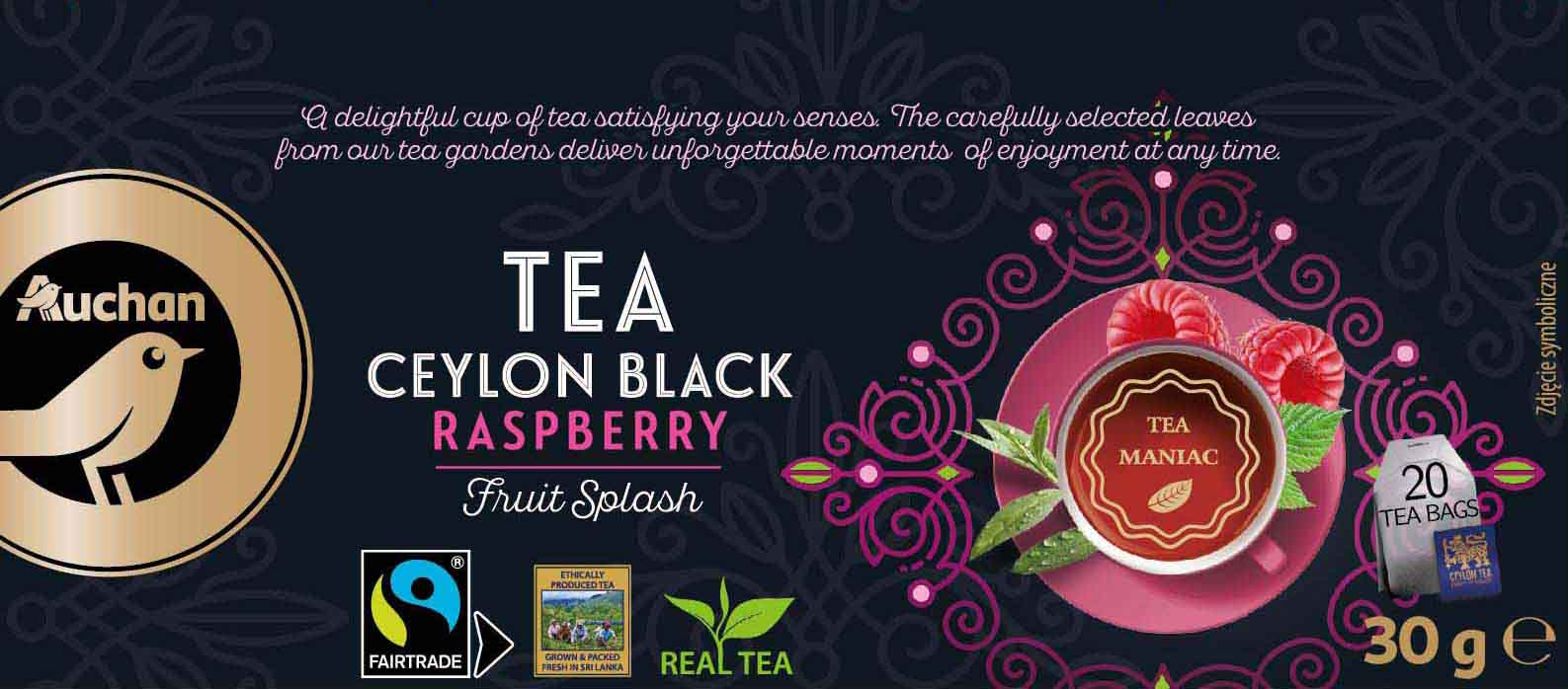 Tea Ceylon Black Raspberry