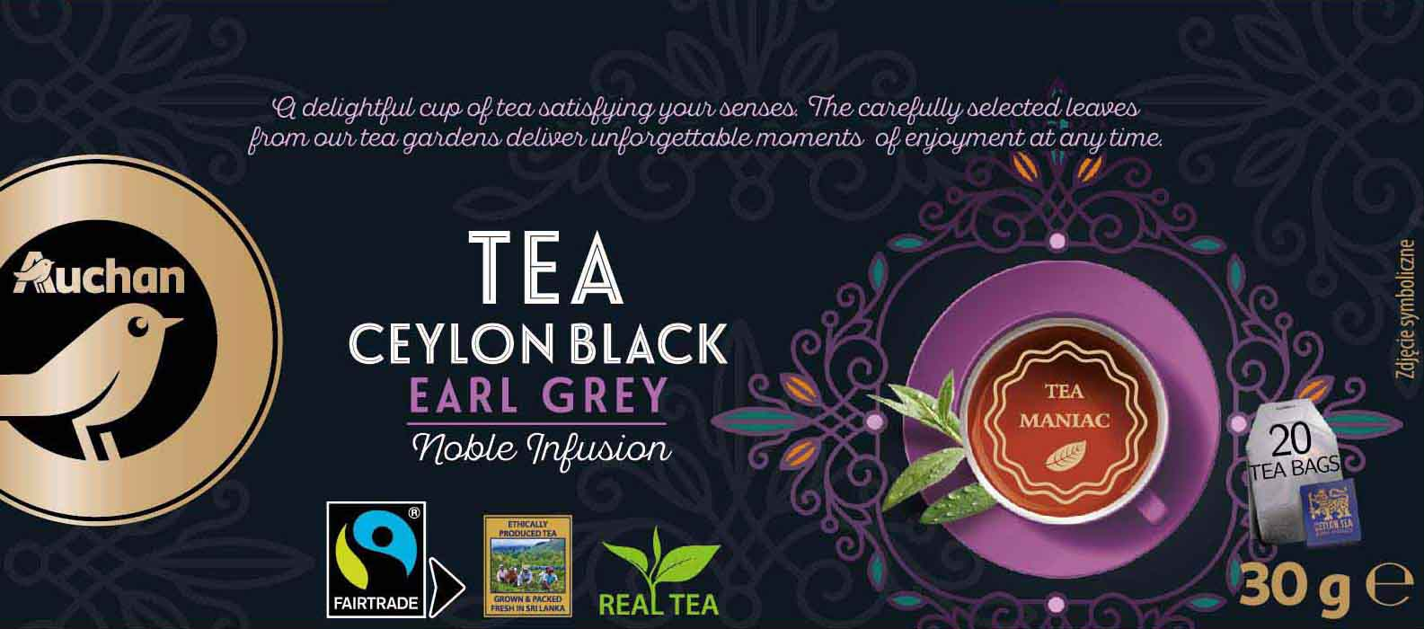 Tea Ceylon Black Earl Grey
