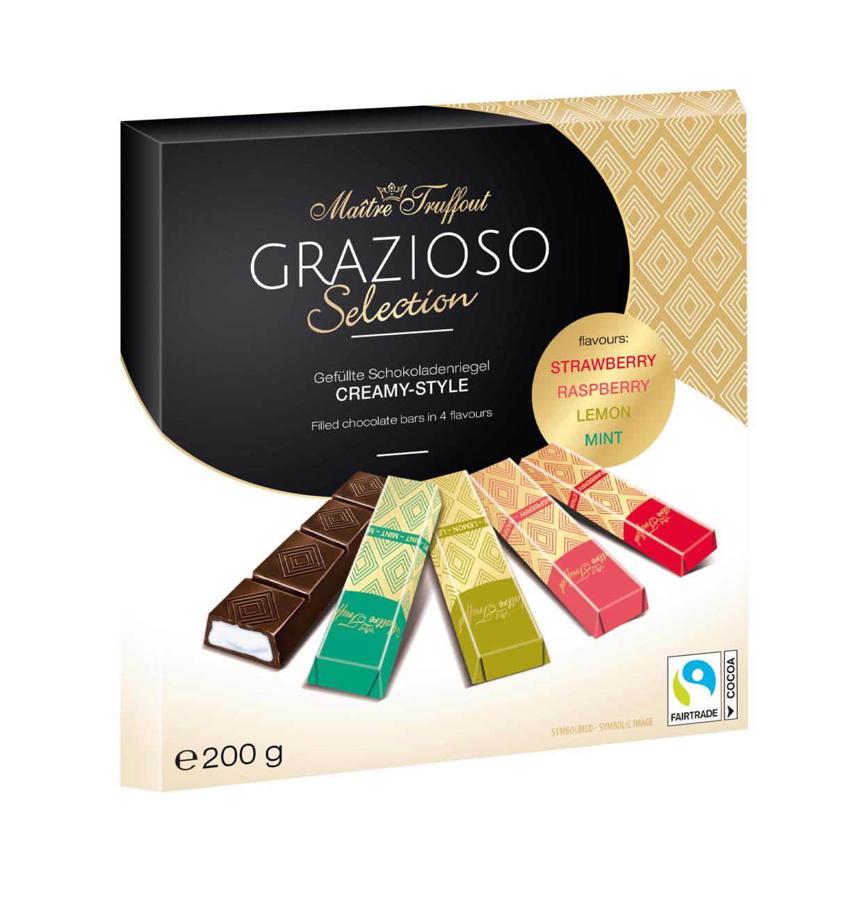 Grazioso Selection Cremeschokolade 200g