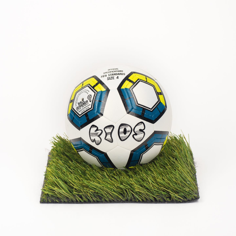 BALLDESIGNER KIDS 4 Fußball