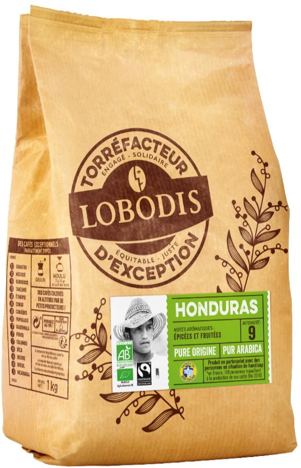 Café HONDURAS 500G GRAIN BIO FT