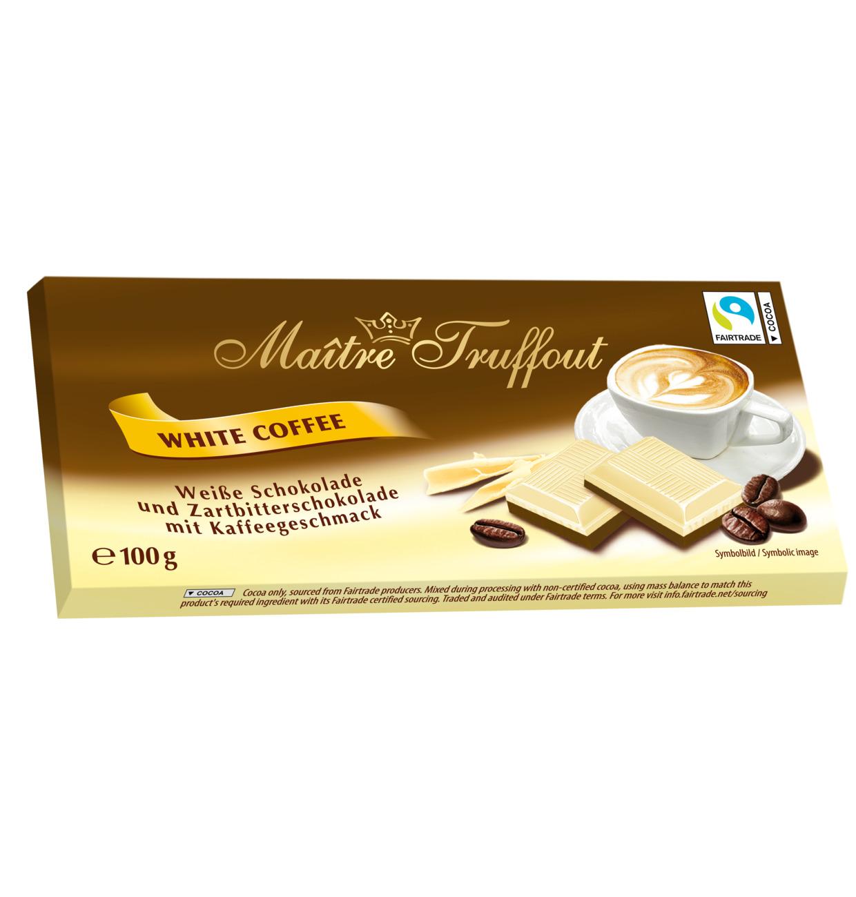 Weisse Schokolade mit Kaffeeschokolade 100g