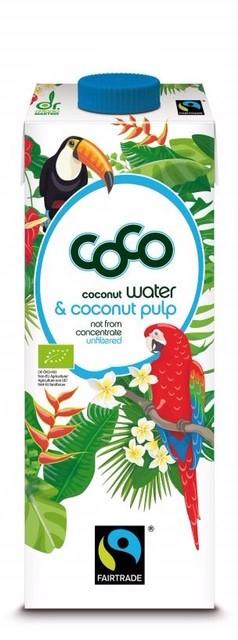 coconutwater & coconut pulp