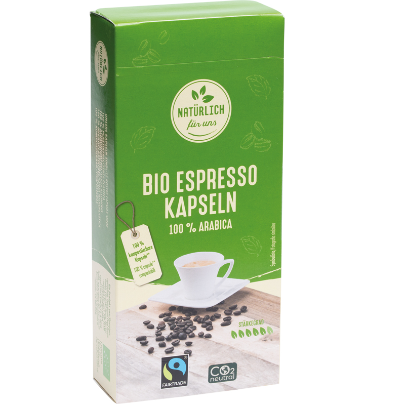 Bio Espresso Kapseln